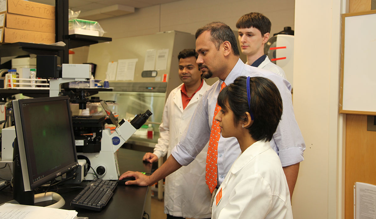 dr. ashish ranjan and his team